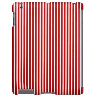 Caja roja y blanca de las Rayas-iPad