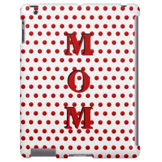 Caja roja y blanca de los Puntos-iPad de la polca