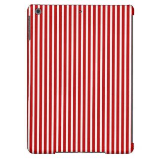 Caja roja y blanca del aire de las Rayas-iPad
