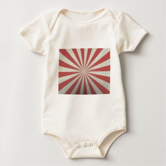 Caja roja y blanca del iPhone Body Para Bebé