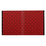 Caja roja y negra clásica de Caseable IPad