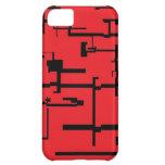 Caja roja y negra de Digitaces IPhone