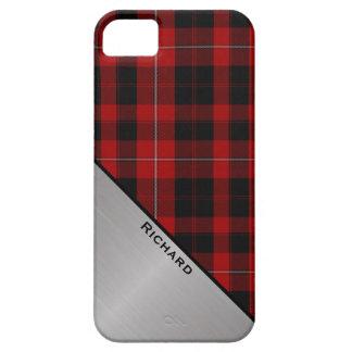 Caja roja y negra de encargo del iPhone 5S de la iPhone 5 Fundas