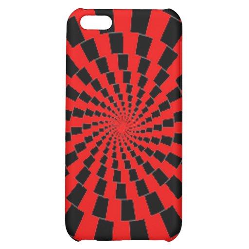 caja roja y negra del hypno para el iPhone
