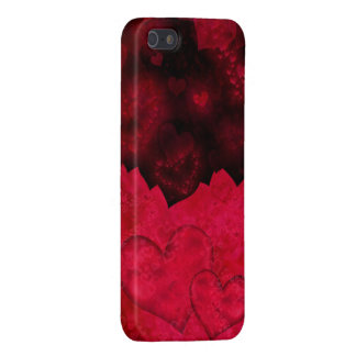 Caja roja y negra del iPhone 5 del el día de San V iPhone 5 Cobertura