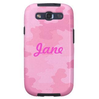 Caja rosa clara de encargo de la galaxia de Samsun Samsung Galaxy S3 Protectores
