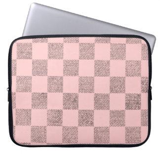 Caja rosa clara del ordenador portátil del cuadro fundas computadoras