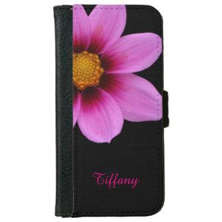 Caja rosada bonita de la cartera del iPhone 6 de