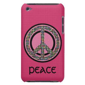 Caja ROSADA CON LENTEJUELAS de la casamata del Case-Mate iPod Touch Carcasa