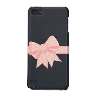 Caja rosada de iPod del arco