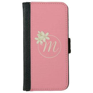 Caja rosada de la cartera del iPhone 6/6s del Funda Cartera Para iPhone 6