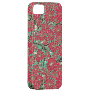 caja rosada de la flor iphone5 iPhone 5 cárcasa