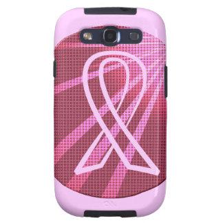 Caja rosada de la galaxia de Samsung de la campaña Samsung Galaxy S3 Protector