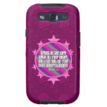 Caja (rosada) de la galaxia S3 de Samsung del 3:5  Galaxy S3 Carcasas