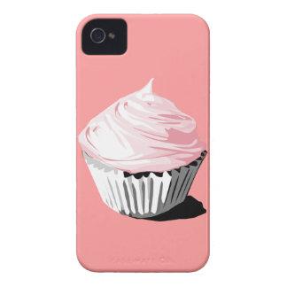 Caja rosada de la magdalena iphone4/4S Carcasa Para iPhone 4