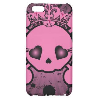 Caja rosada de la mota del iPhone 4 4s de la bande