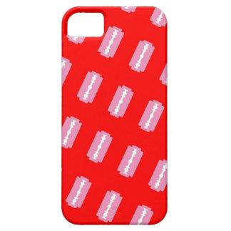 Caja rosada de las maquinillas de afeitar iPhone 5 Case-Mate cárcasa
