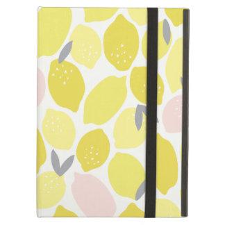 Caja rosada del aire del iPad de la limonada
