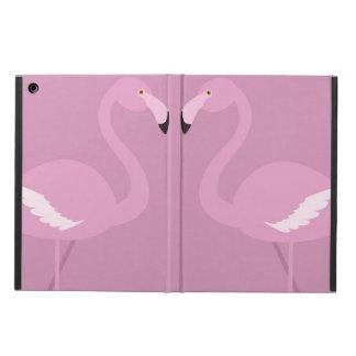 caja rosada del aire del ipad del amor del cisne