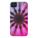 Caja rosada del caleidoscopio iPhone 4 Case-Mate cárcasa