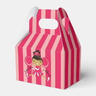 Caja rosada del favor del aguilón del fiesta de la