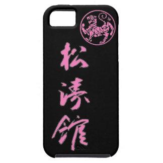 Caja rosada del teléfono de Shotokan iPhone 5 Carcasa