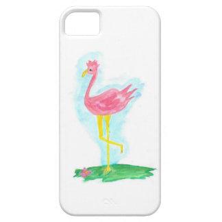 Caja rosada del teléfono del flamenco I iPhone 5 Carcasa