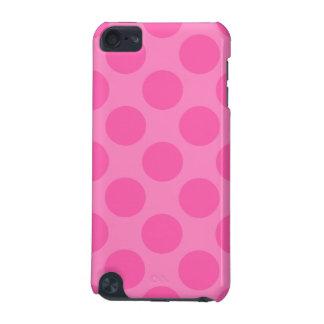 Caja rosada grande de IPod del lunar Funda Para iPod Touch 5G