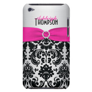 Caja rosada, negra, de plata del tacto de iPod del Case-Mate iPod Touch Carcasas