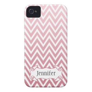 Caja rosada personalizada del iphone 4 del galón d iPhone 4 carcasas