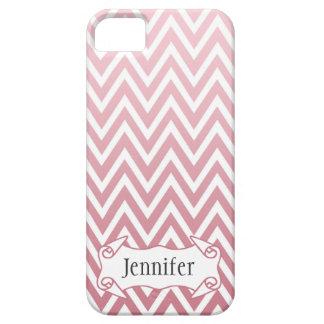 Caja rosada personalizada del iphone 5 del galón d iPhone 5 protectores