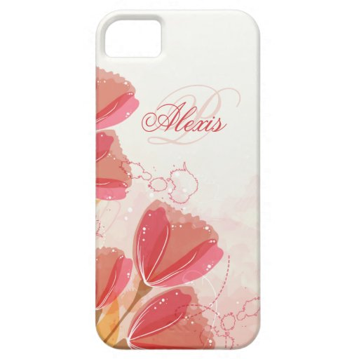 Caja rosada suave personalizada del iphone 5 de la iPhone 5 funda