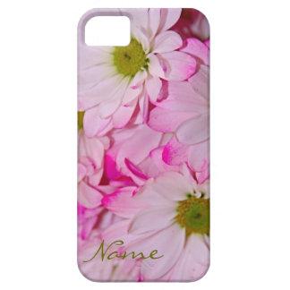 Caja rosada teñida del iPhone 5/5s de las margarit iPhone 5 Case-Mate Cobertura