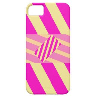 Caja rosada torcida del iPhone 5 iPhone 5 Case-Mate Cobertura