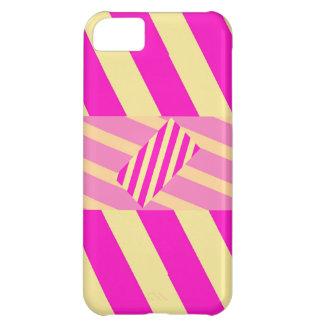 Caja rosada torcida del iPhone 5