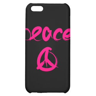 Caja rosada y negra del iPhone 4 del signo de la p