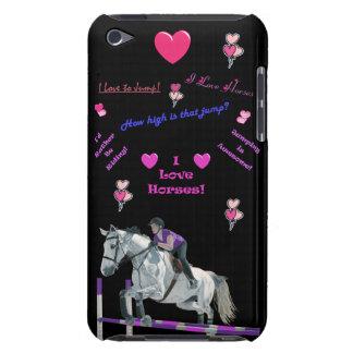 Caja rosada y púrpura de la casamata de iPod de lo Case-Mate iPod Touch Protectores