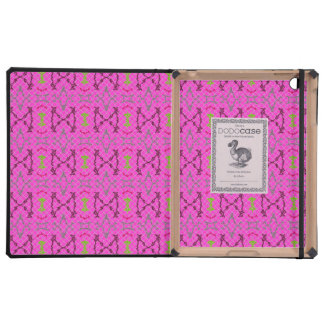 Caja rosada y verde de Ipad del Dodo del modelo iPad Protectores