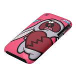 Caja rota corazón gritadora del iPhone 3G del cone iPhone 3 Case-Mate Cobertura
