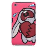 Caja rota corazón gritadora del tacto de iPod del  Case-Mate iPod Touch Fundas
