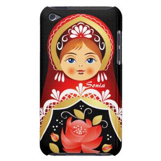 Caja rusa de iPod de la muñeca de Babushka Funda Para iPod De Case-Mate