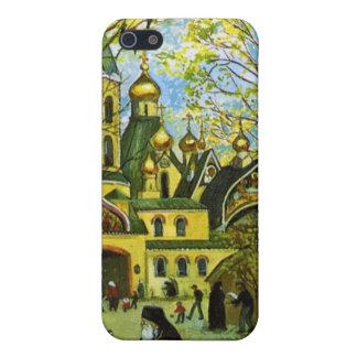 Caja rusa del teléfono de la iglesia iPhone 5 carcasa