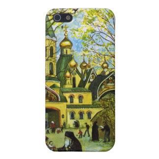 Caja rusa del teléfono de la iglesia iPhone 5 carcasas