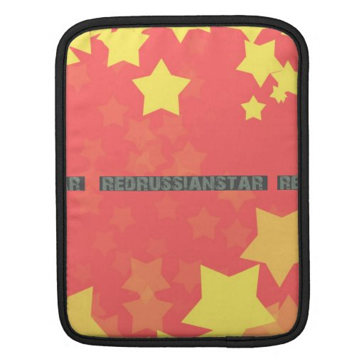 Caja rusa roja del iPad de la estrella Mangas De iPad