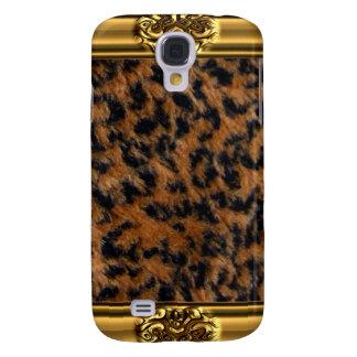Caja salvaje de la piel iPhone3 del leopardo