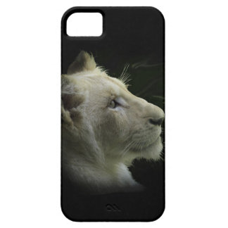 Caja salvaje del teléfono del León-Amante del gato Funda Para iPhone SE/5/5s