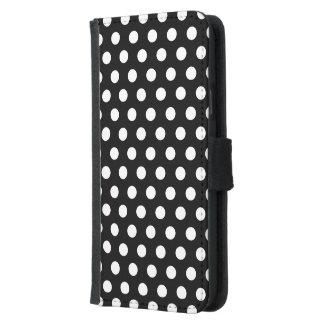 Caja Samsung S5 Polkadots de la cartera