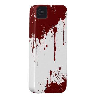 Caja sangrienta de la casamata de Barely There del iPhone 4 Carcasas