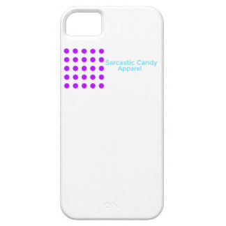 Caja sarcástica del teléfono de la ropa del iPhone 5 fundas