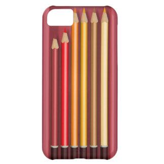 Caja secreta coloreada de los lápices